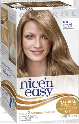 Clairol Nice N Easy Creme Natural Looking Permanent Hair Dye Clairol