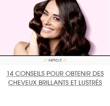 14 conseils pour obtenir des cheveux brillants et lustrs clairol - Coloration Brun Clair
