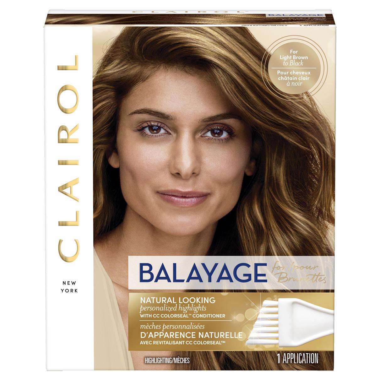 balayage pour brunettes | clairol