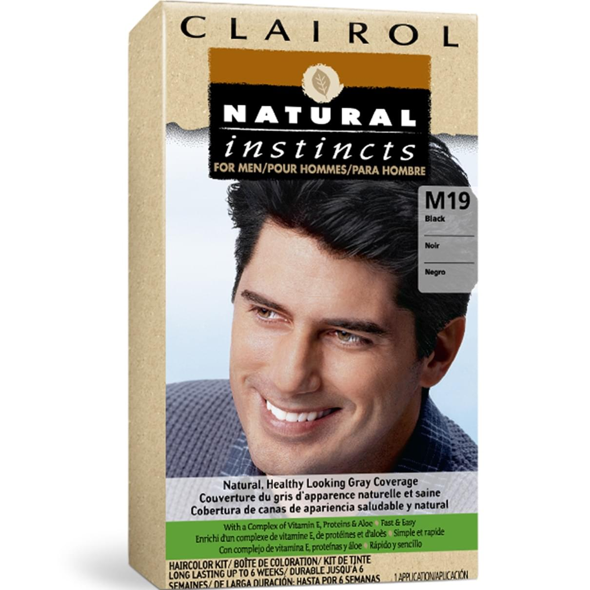 Men\'s Hair Color | Clairol Natural Instincts
