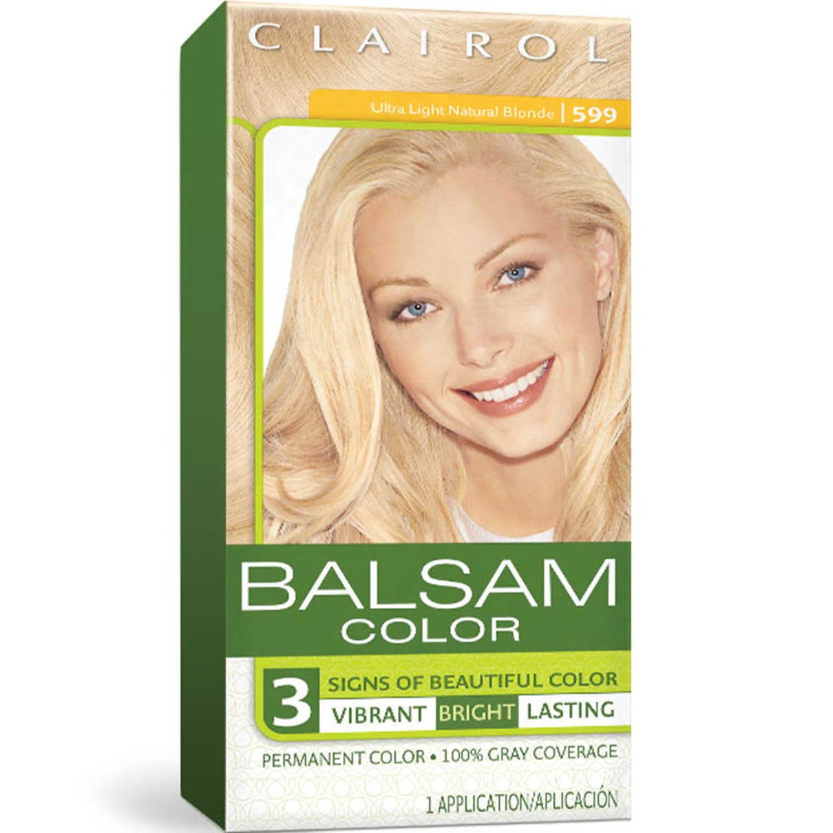 Balsam Permanent Blonde Hair Color Clairol