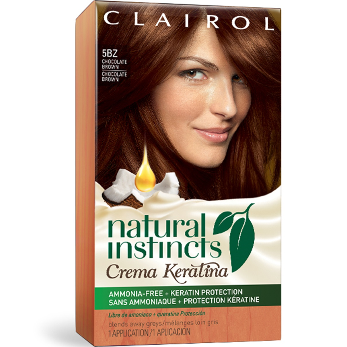 Natural Instincts Crema Keratina Just The Brunette Shades