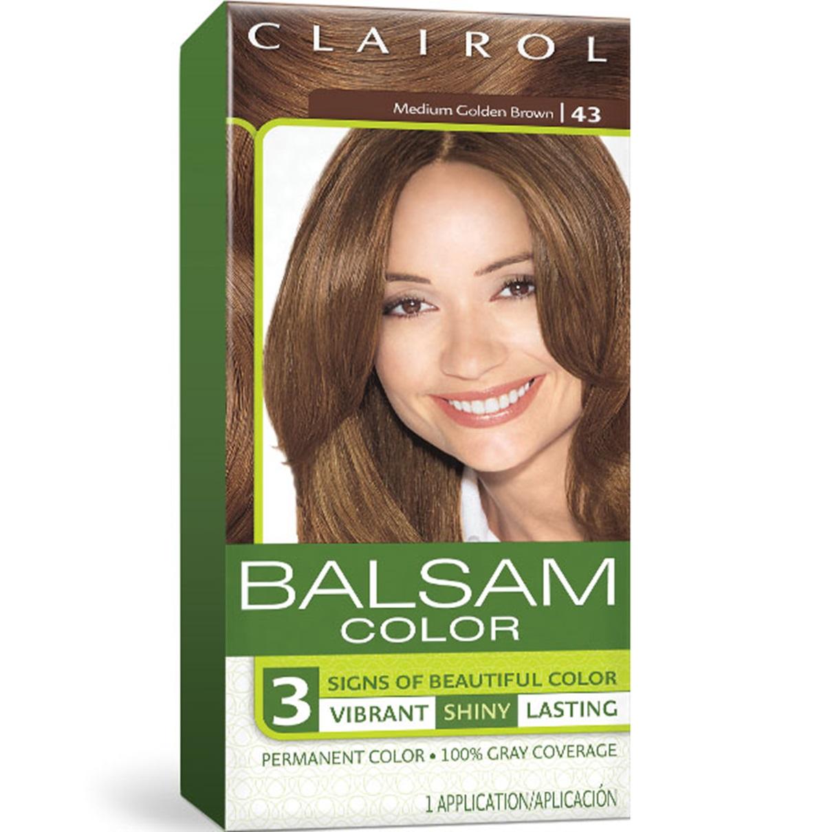 Balsam Permanent Brunette Hair Color Clairol