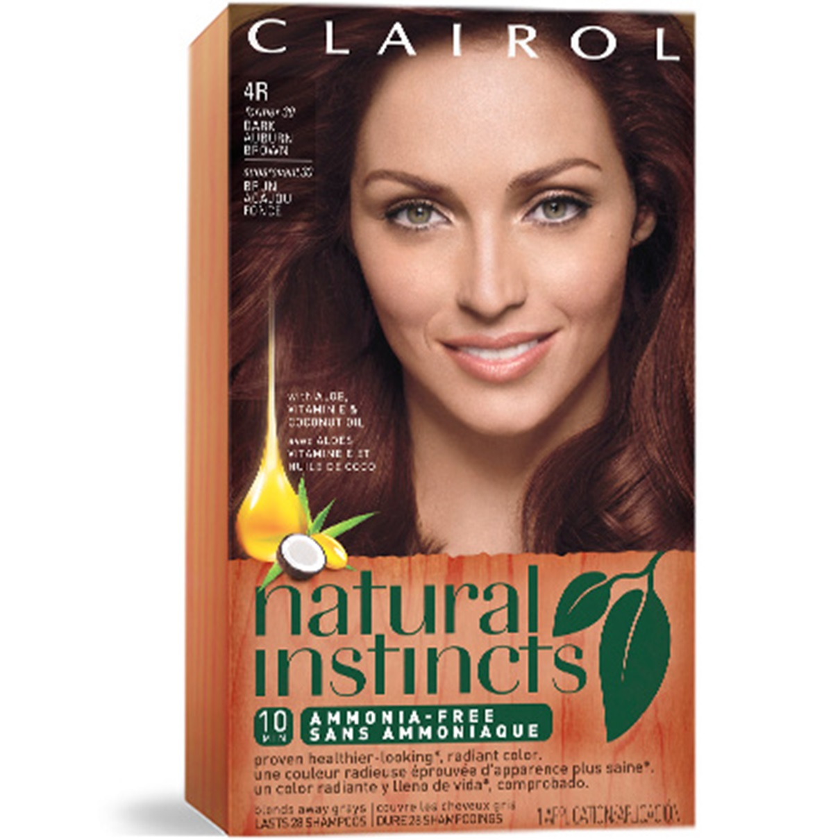 Nice And Easy Hair Color Shades 424168 Clairol N Semi Permanent Dye No Ammonia 90 Dark Ash
