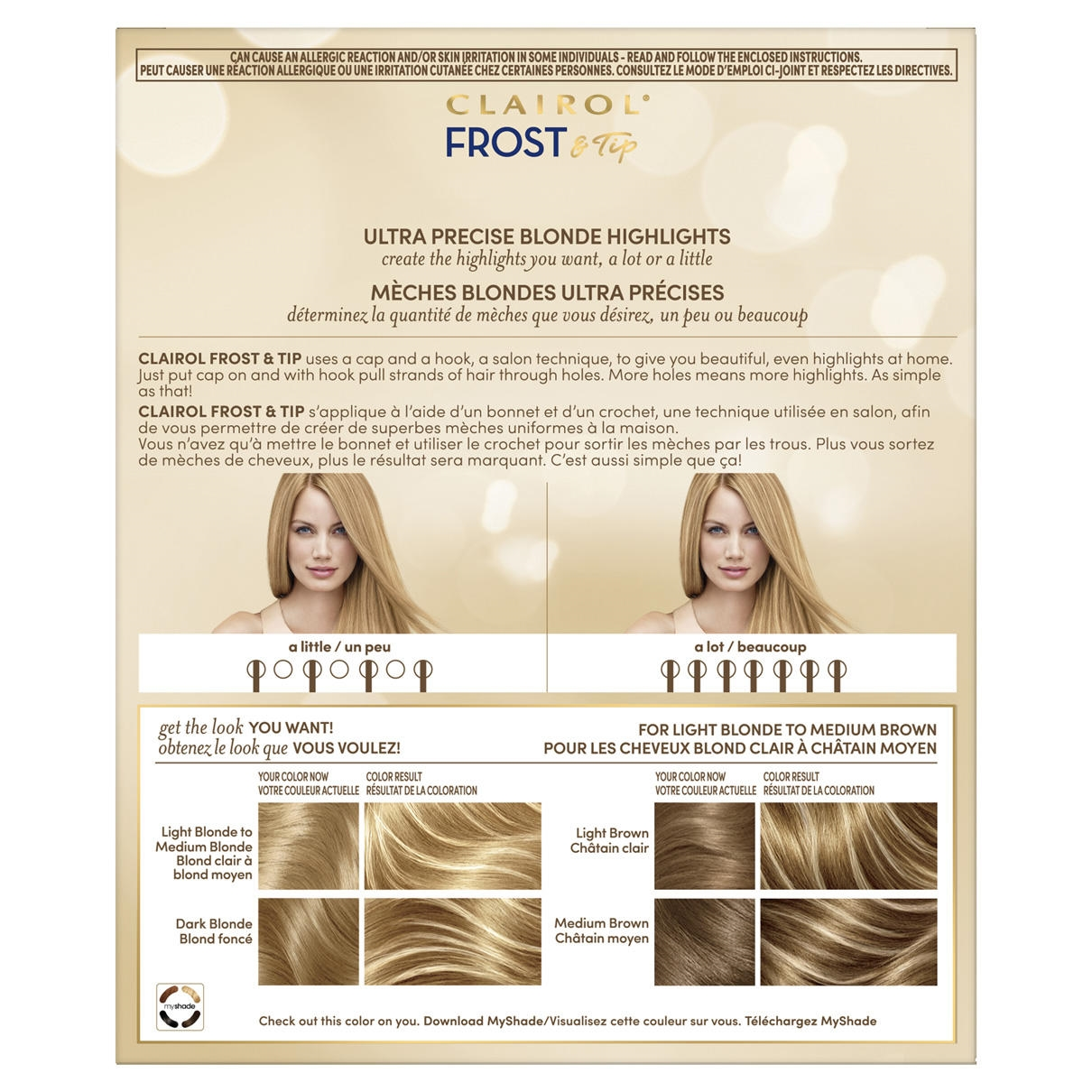 Frost Tip Clairol