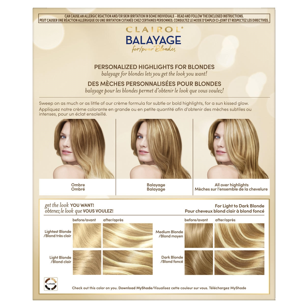 Balayage For Blondes Clairol