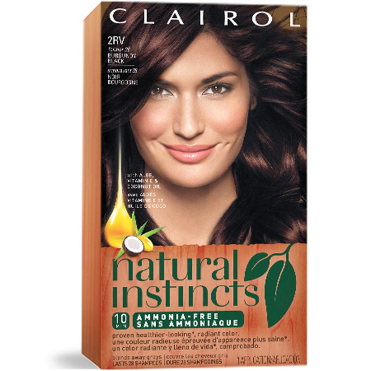 Non Permanent Hair Color Natural Instincts