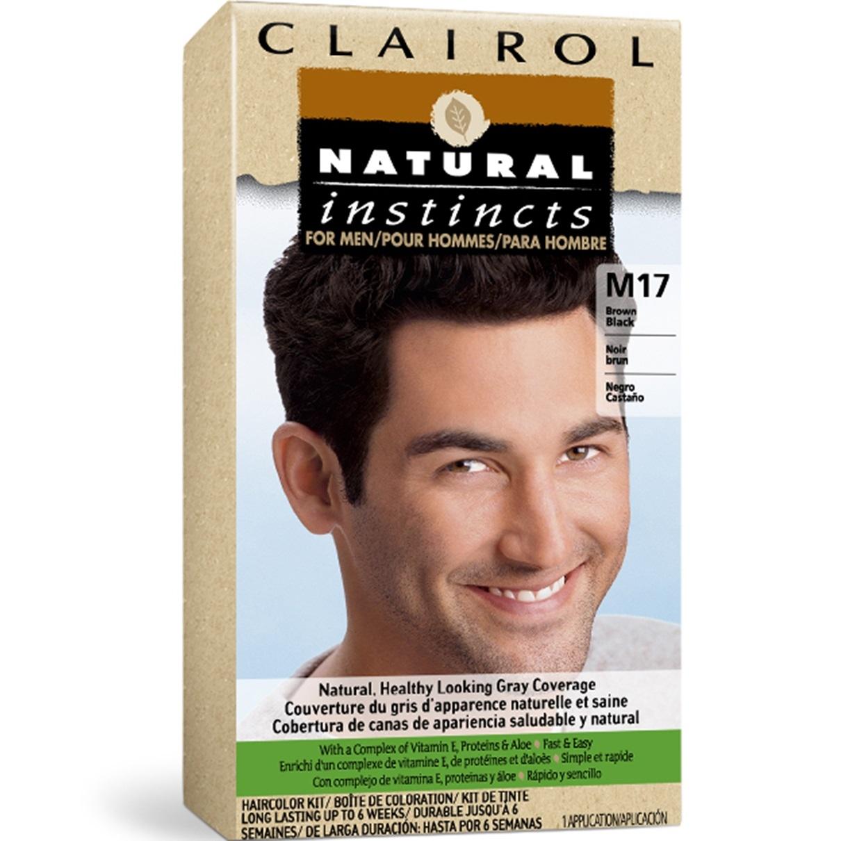 Black Hair Color for Men | Clairol Natural Instincts