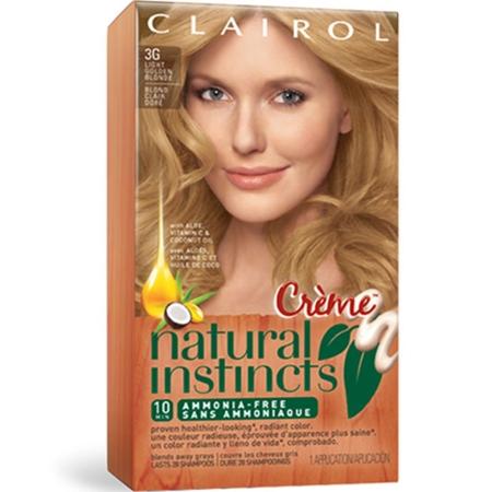 natural instincts creme light golden blonde - Coloration Blond Clair Caramel
