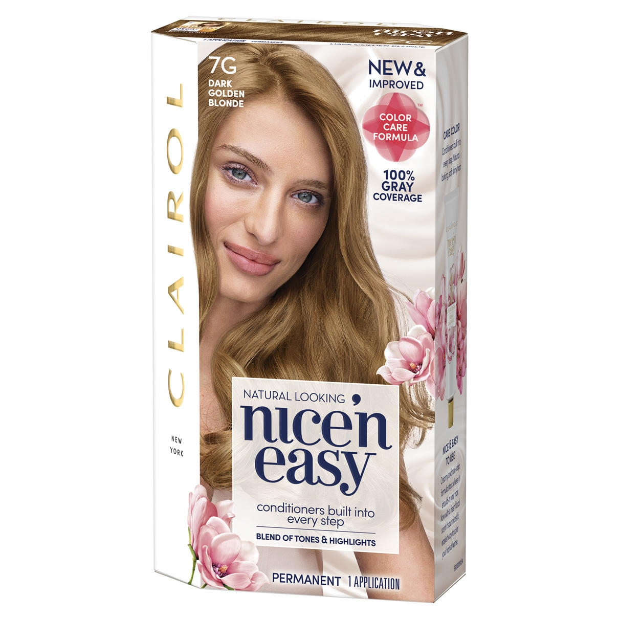Clairol Nice N Easy Frost Tip Original Precision Blond Highlights Hair Color Kit Pack Of