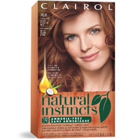 Demi-Permanent Red Hair Color | Clairol Natural Instincts